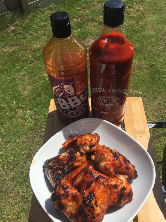 Hot & Sweet Chilli Chicken Wings – Go-Tan