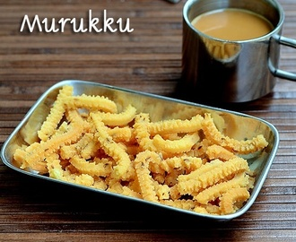 Butter Murukku Recipe(With Video)-Benne Murukku-Easy Snack Recipes