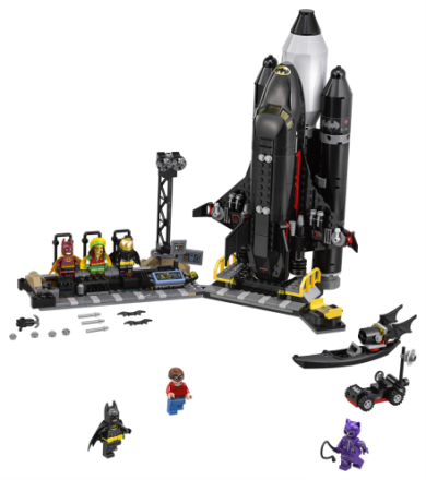 Bat-rumdfärja - LEGO Batman The movie 70923