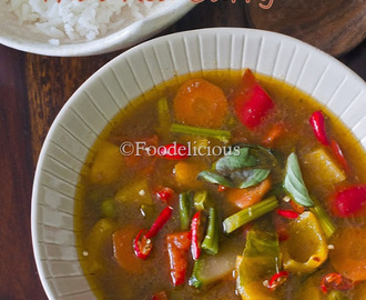 How To Make An Authentic Thai Red Curry or Gaeng Daeng At Home; A Vegan Version Of Thai Red Curry