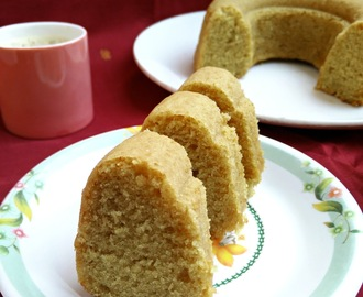 Eggless Wheat Sponge Cake/ Eggless Atta Cake
