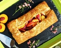 Cheat's Low Fat Peach Galette – easy & delicious!
