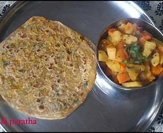 MOOLI PARATHA/RADISH PARATHA/LUNCH BOX RECIPES
