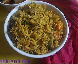 HYDERABADI VEGETABLE BIRYANI/LUNCH BOX IDEA/RICE VARIETIES