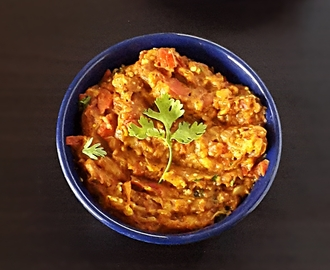 Baingan bharta recipe – Smoky spiced mashed eggplant