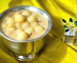Paal Kozhukattai (Rice Dumplings in Jaggery Syrup and Coconut Milk)