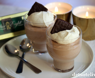 After Eight sjokolademousse