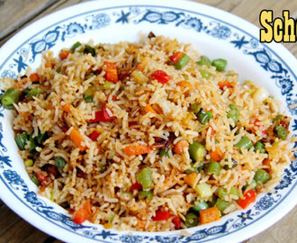 Schezwan Fried Rice Recipe | Indian or Indo Chinese Schezwan Fried Rice Recipe