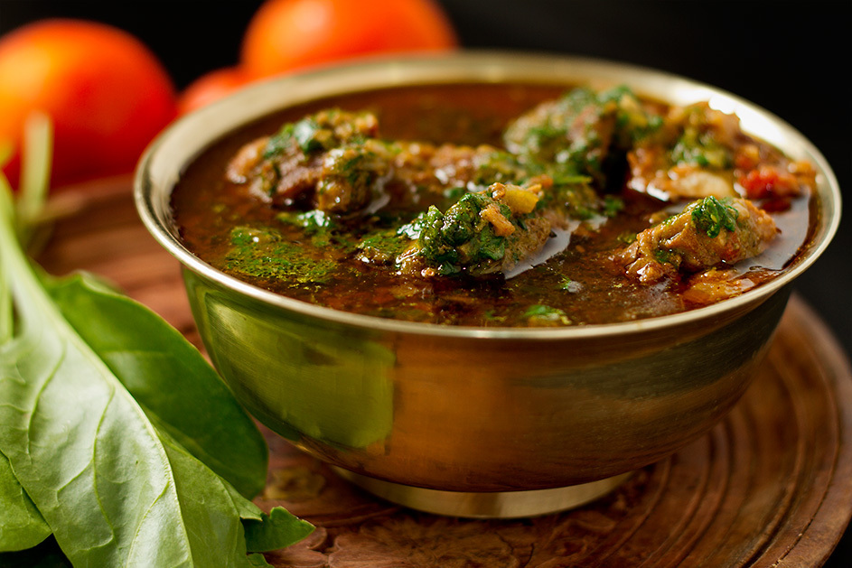 Palak Gosht – Meat with Spinach