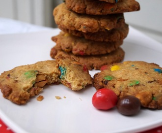 Cookies aux M&M's et au peanut butter version Thermomix