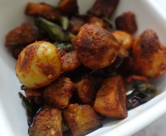 Spicy Masala Baby Potatoes