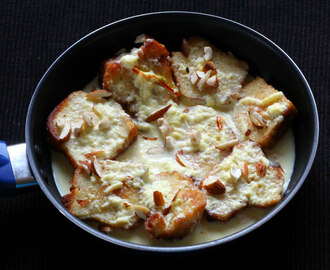 TOASTED BREAD PUDDING