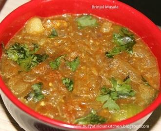 Brinjal masala for chapathi recipes - myTaste  Brinjal masala ...