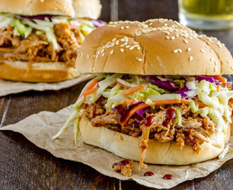 Delicious Texas BBQ Slow Cooker Pulled Pork