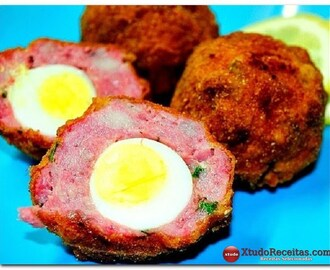 Ovos de Codorniz Escoceses / Scotch Quail's Eggs