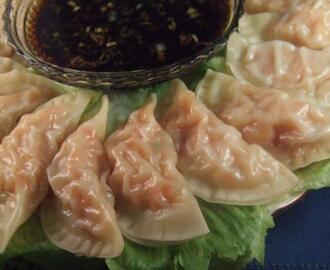 Shrimp Pot Stickers (Dumplings)