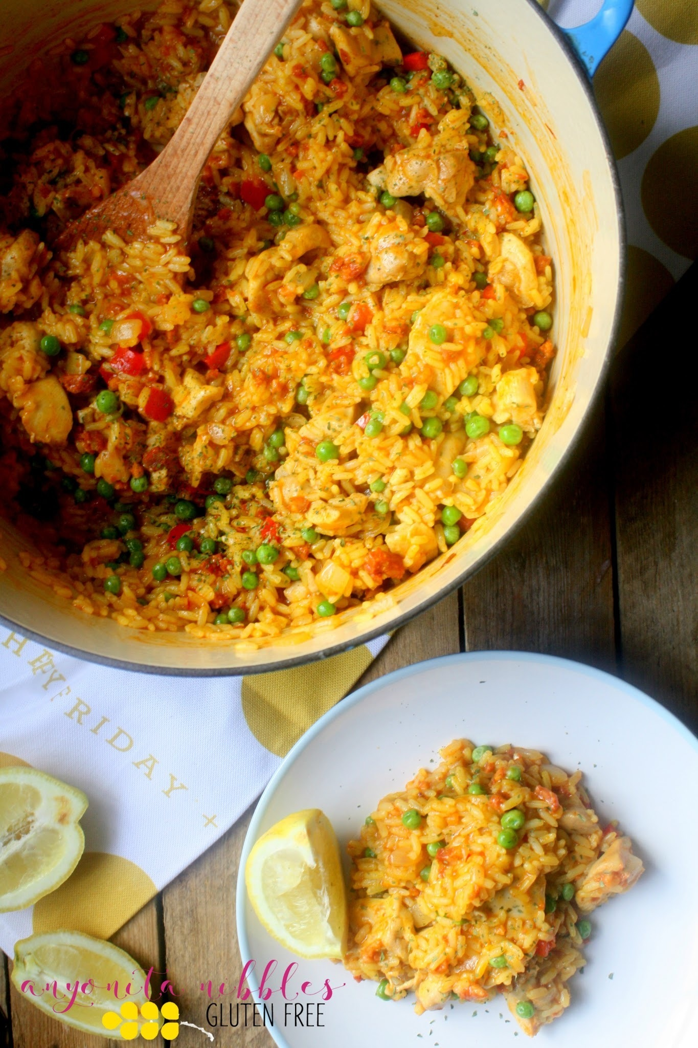 Gluten Free One Pot Chicken Chorizo Paella