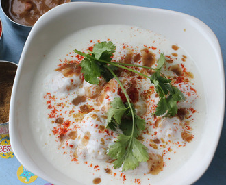 Dahi Vada – An Indian Street Food Affair