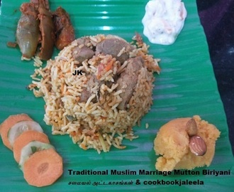 Traditional Muslim Marriage Mutton Biriyani - Eid Al Adha Mubarak