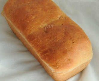 Yeasted Eggless Banana Sandwich Bread