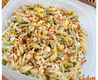 Cold Pasta Salad ... An Yummy n Healthy Diet