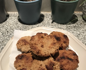 Galletas de avena y harina integral