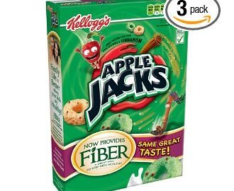 3- Boxes of Apple Jacks Cereal $5.51 Shipped