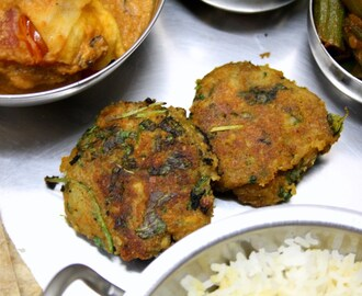 Hara Bhara Kebab | Vegetable Spinach Cutlets