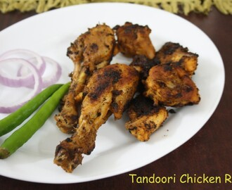 Tandoori Chicken ~ Pan Fried Tandoori Chicken Roast
