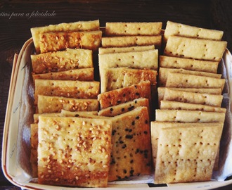 Cream Crackers de Parmesão