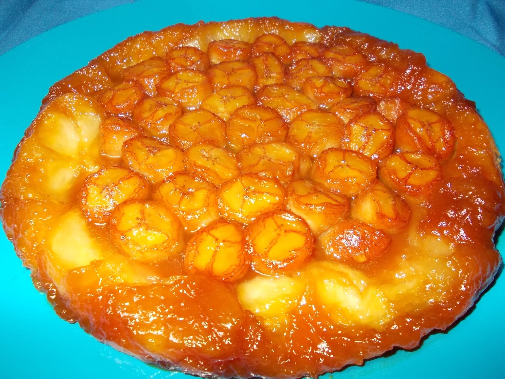 Tarte Invertida de Banana