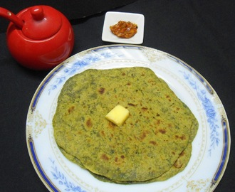 Spinach Paratha | Paratha Recipe