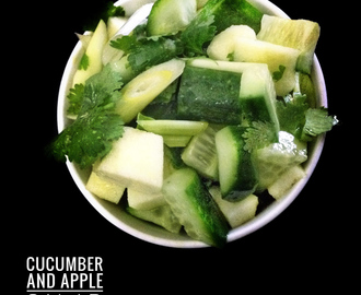 Cucumber and Apple Salad or Salsa
