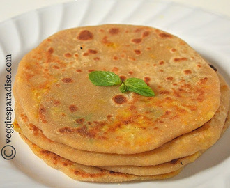 GOBI PARATHA RECIPE | CAULIFLOWER STUFFED PARATHA