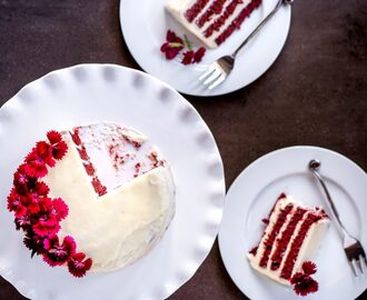 The Sweet Rebellion wrote a new post, Vertical Stripe Real Red Velvet Cake, on the site The Sweet Rebellion