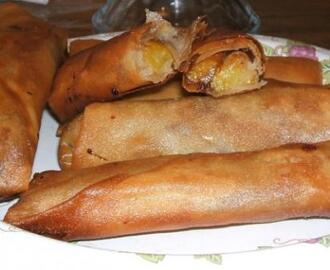 Shortcut Filipino Banana Lumpia