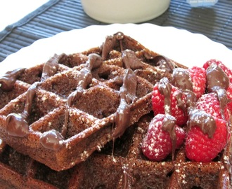 Waffles de Chocolate