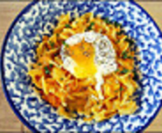 dinner for breakfast ~ butternut squash mac & cheese