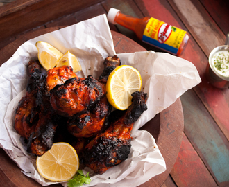 Spicy Tandoori Chicken, Indian Mexican Fusion