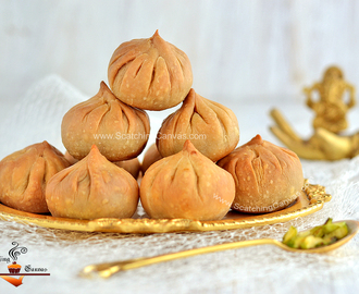 Oven Baked Modak with Date Palm Jaggery | Gur er Modak | Ganesh Chaturthi Recipes