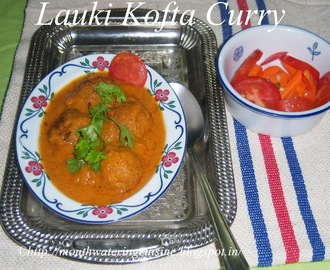 Lauki Kofta Curry -- Bottle Gourd Kofta Curry -- How to make Lauki Kofta Curry