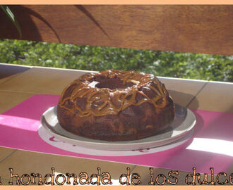 Semana cafetera...bundt cake de cafe,chocolate y nueces