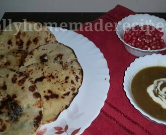 Butter Naan Recipe, How to make Butter Naan Recipe on Tawa