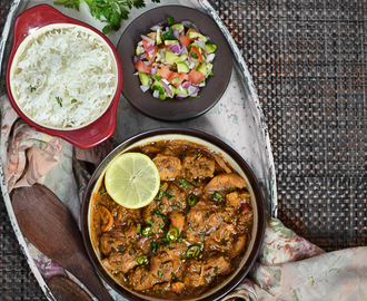 Chicken Pirattal /Semi Dry Chicken Curry