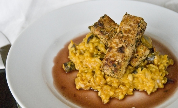 "Food Network Friday: ""Lamb Shanks"" with Sweet Potato Risotto and Sauce"