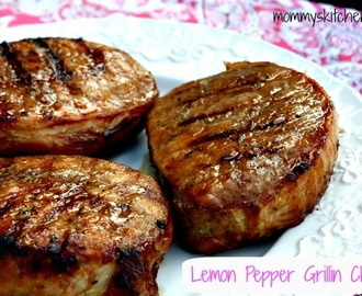 Lemon Pepper Grillin Chops& The Benefits of Olive Oil
