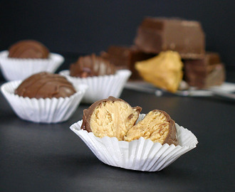 Milk Chocolate Peanut Butter Truffles
