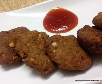 Masala Vada Recipe, How To Make Masala Vada|Masala Vadai