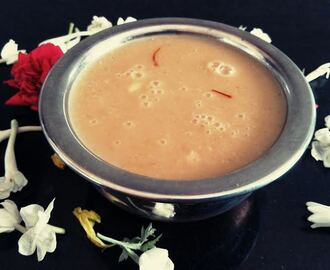Rice and Coconut Kheer (Arisi Thengai Payasam)
