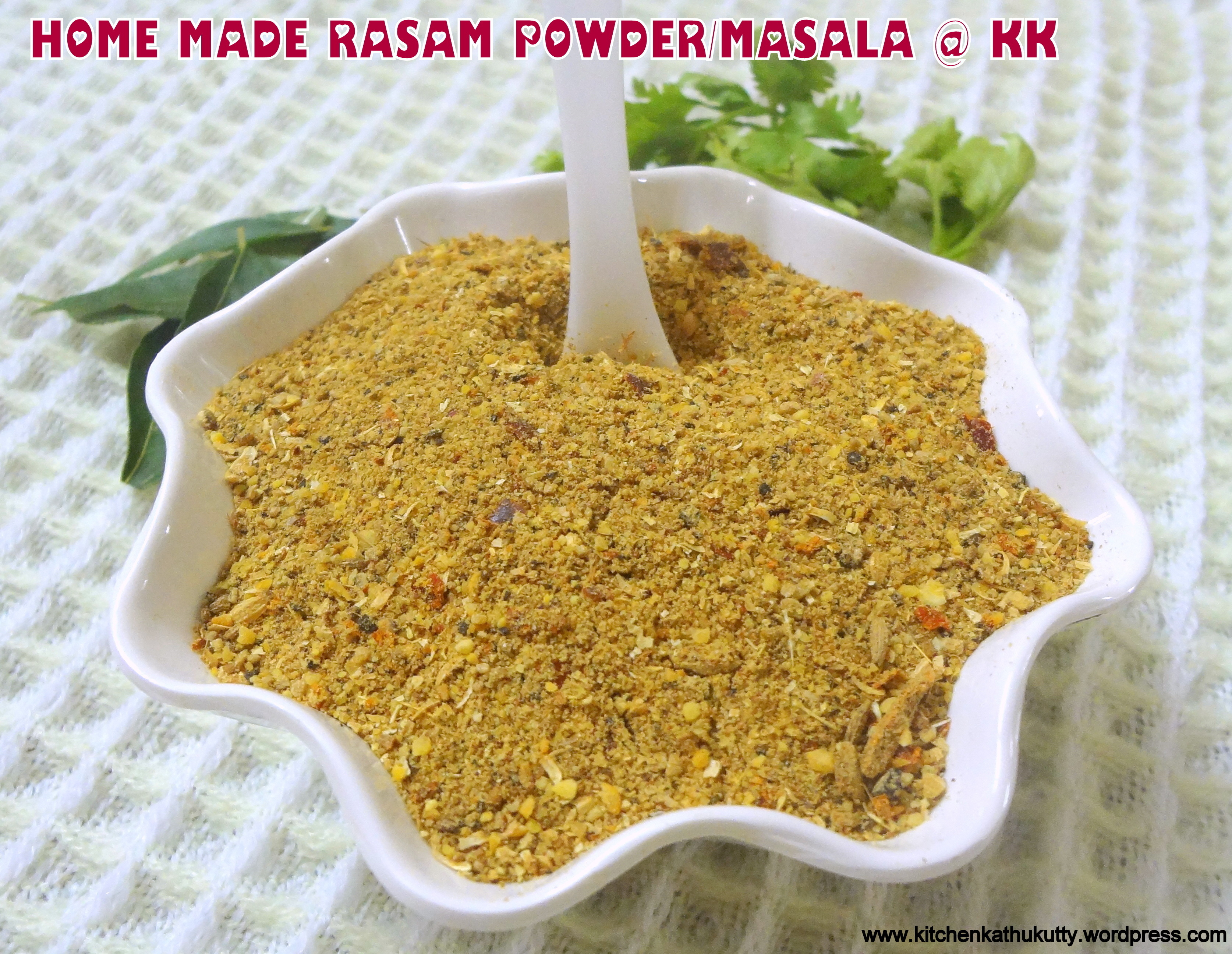 HOME MADE RASAM POWDER|RASAM POWDER/MASALA/PODI RECIPE